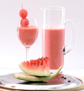 Как делать коктейль из арбуза ?