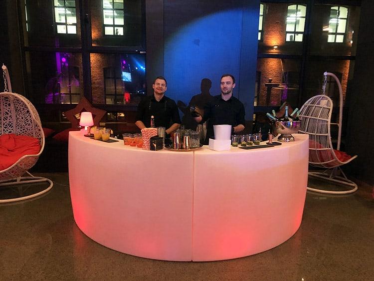 Коктейльный бар на корпоративное мероприятие